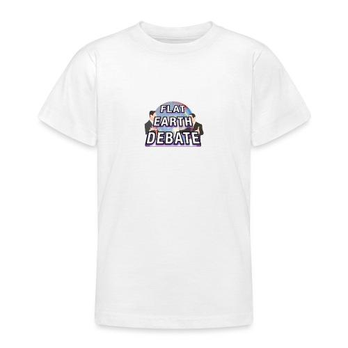 Flat Earth Debate - Teenage T-Shirt