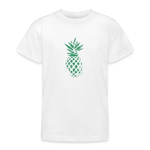 Ananas vert - T-shirt Ado