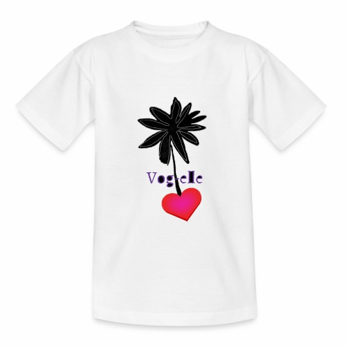 Vog elle love1 - T-shirt Ado