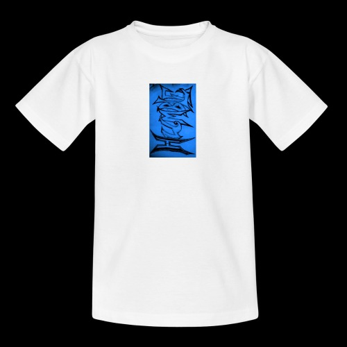 HUMBLE BLUE - Teenage T-Shirt