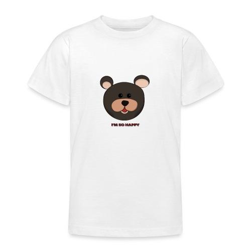 Osito feliz - Camiseta adolescente