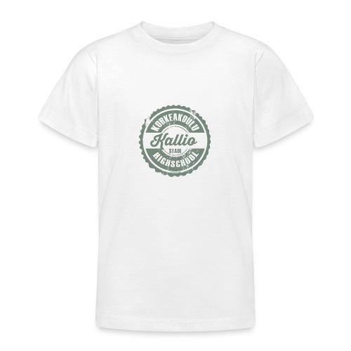 22V-KALLION KORKEAKOULU - Tekstiilit ja lahjat - Nuorten t-paita