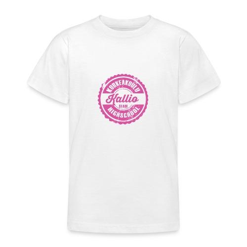 22P-KALLION KORKEAKOULU - Tekstiilit ja lahjat - Nuorten t-paita