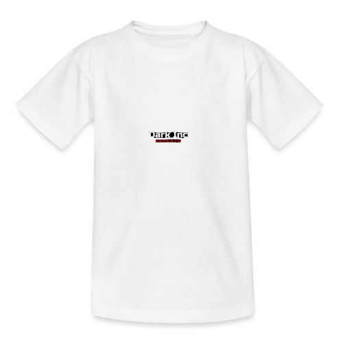 Dark Inc Text - Teenager-T-shirt