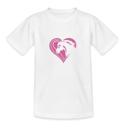 Iheart horses - Teenager T-Shirt