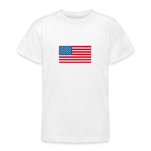 Verenigde Staten vlag jpg - Teenager T-shirt