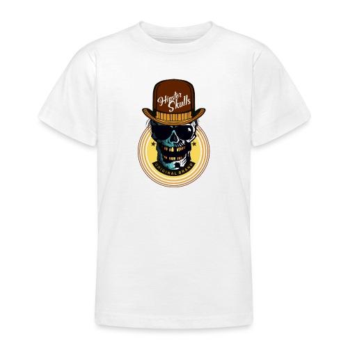 tete de mort hipster skull crane lunette de soleil - T-shirt Ado