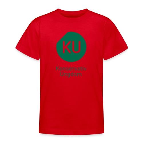 Konservativ Ungdom - Teenager-T-shirt