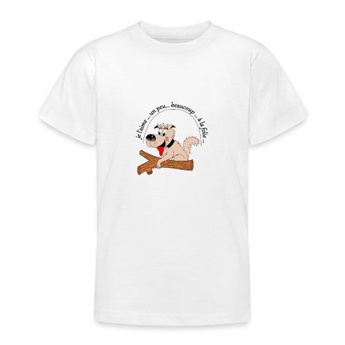 Chien à la folie - T-shirt Ado