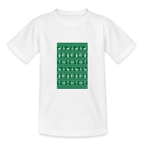 fylo6 christmas - Teenage T-Shirt