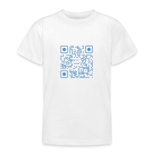 QR Maidsafe.net - Teenage T-Shirt