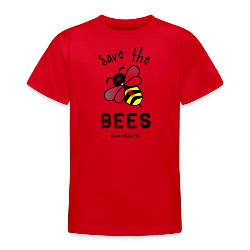 Bees4-1 save the bees | Bookrebels - Teenage T-Shirt