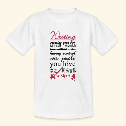 Writing - Teenage T-Shirt