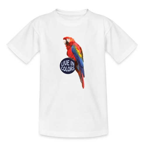 Parrot - Live in colors - Teenage T-Shirt