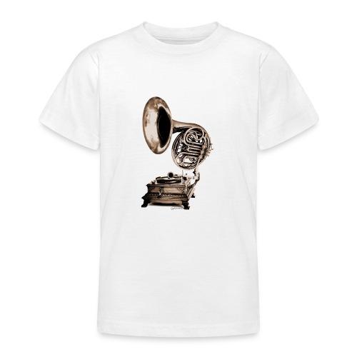 Grammo-Horn - Teenager T-Shirt
