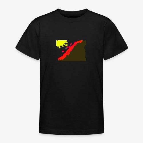 flowers - Teenager-T-shirt