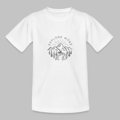 Explore more - Teenage T-Shirt