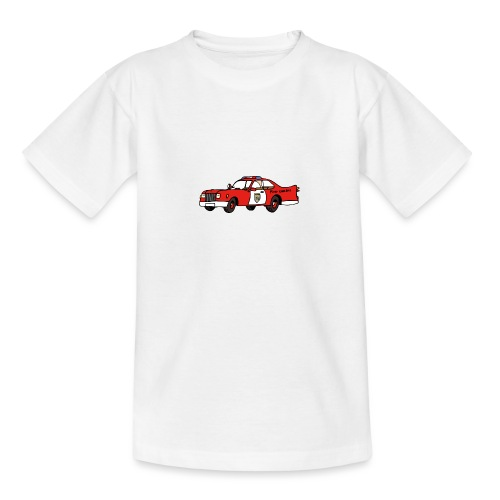 fire chief car - Teenager T-Shirt