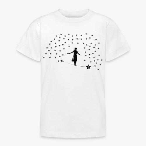 Slackline in the stars - Teenage T-Shirt