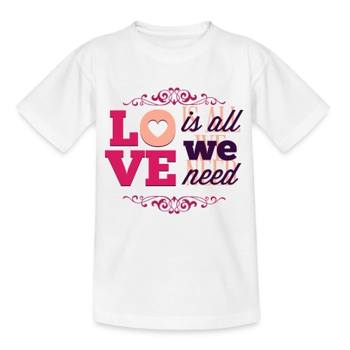 Valentinstag - Teenager T-Shirt
