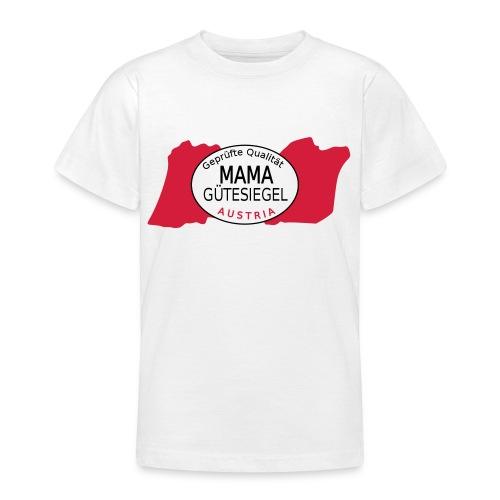 mama Gütesiegel - Teenager T-Shirt