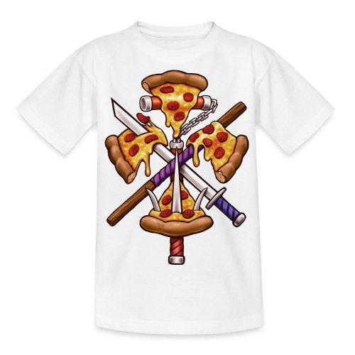 Ninja Pizza - Teenage T-Shirt