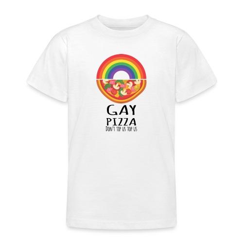 Gay Pizza   LGBT   Pride - Teenager T-Shirt