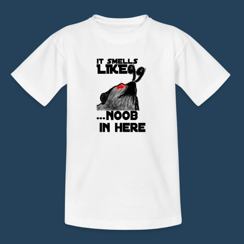 It smells like NOOB in here! - Teenager T-Shirt