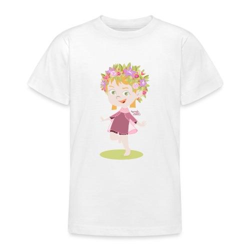 Danser sous le soleil de minuit en Finlande - T-shirt Ado