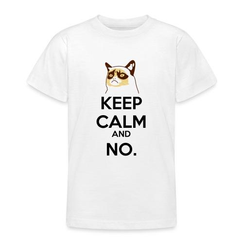 Grumpy Cat Keep Calm - Maglietta per ragazzi