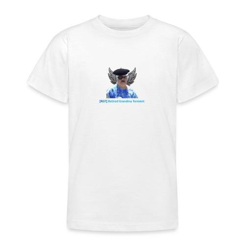World of tanks- RGT (Retired Grandma Torment) gear - Teenage T-Shirt