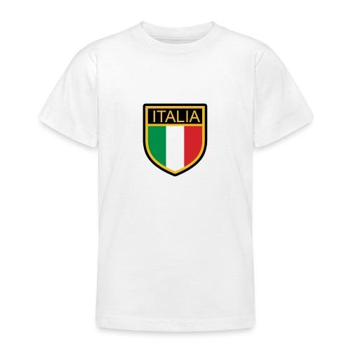 SCUDETTO ITALIA CALCIO - Maglietta per ragazzi