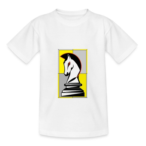 cavallo Scacchi Vers 2 - Maglietta per ragazzi