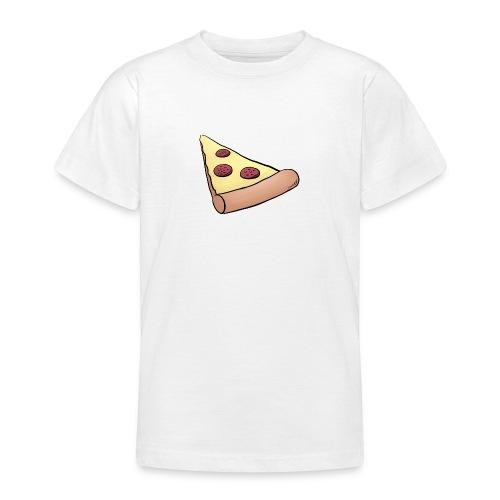 Pizzastück für Eltern-Baby-Partnerlook - Teenager T-Shirt