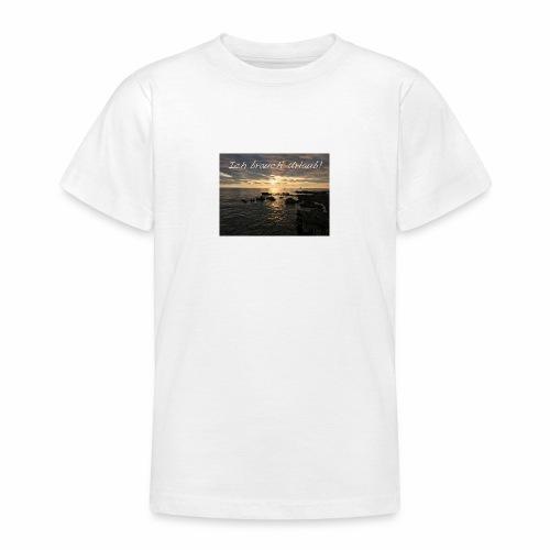Ich brauch' Urlaub - Teenager T-Shirt