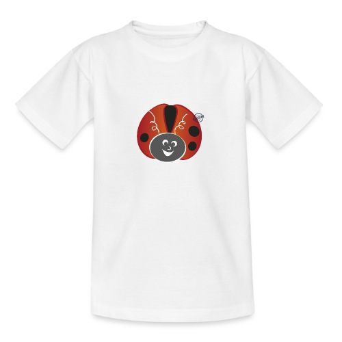 Ladybug - Symbols of Happiness - Teenage T-Shirt