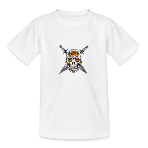 Cross skull swords - T-shirt Ado