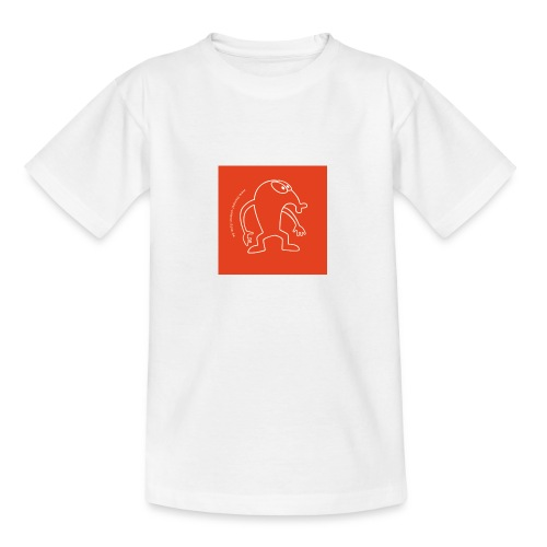 button vektor rot - Teenager T-Shirt