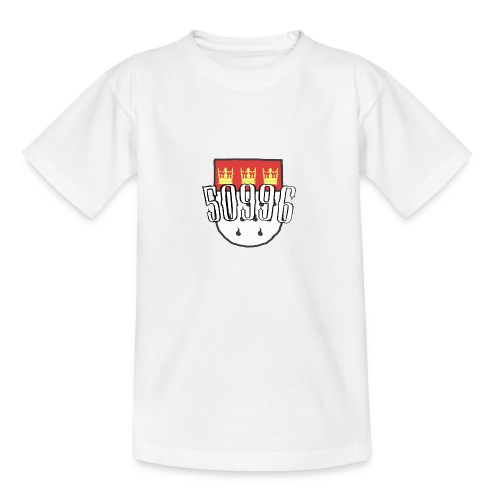 Köln Veedel 50996 - Teenager T-Shirt