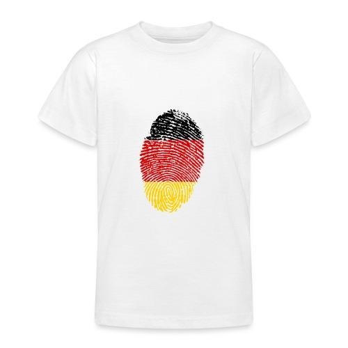GERMANY FINGERPRINT - Teenage T-Shirt