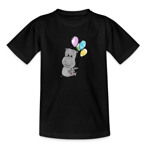 Hippo - Teenager T-Shirt