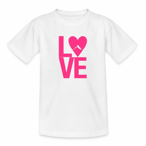 Mountain Love - Teenager T-Shirt