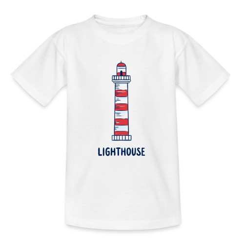 Lighthouse - Teenager T-Shirt