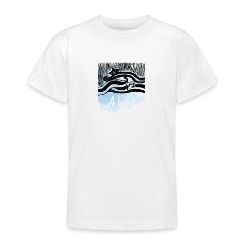 WELLEN SCHIFF FISCH - Teenager T-Shirt