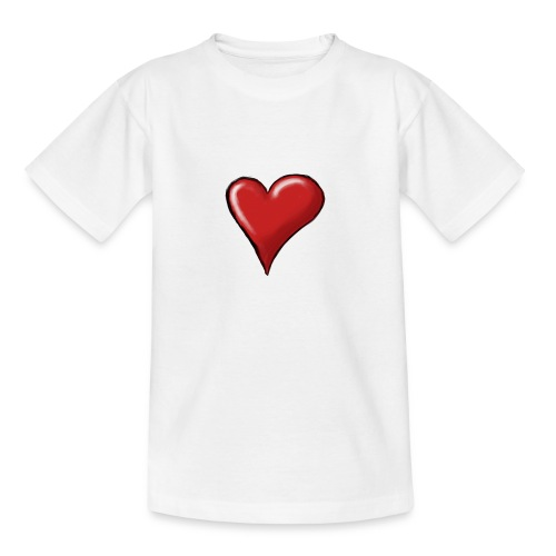 Love (coeur) - T-shirt Ado