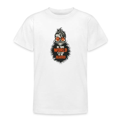 tete de mort citation hipster skull crane humour w - T-shirt Ado