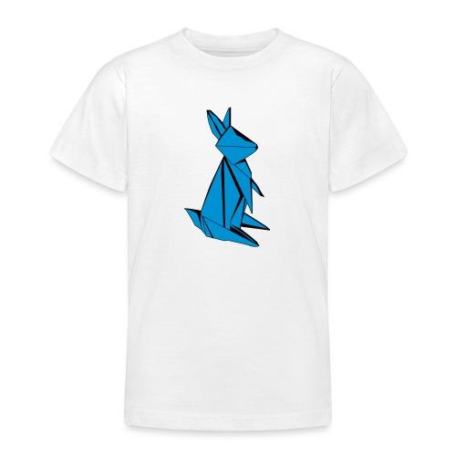 Origami Bunny - Teenage T-Shirt