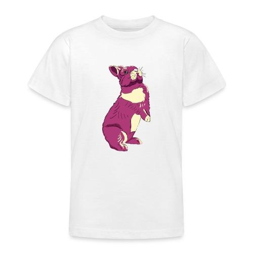 Kaninchen Hasen Häschen Bunny Zwergkaninchen - Teenager T-Shirt