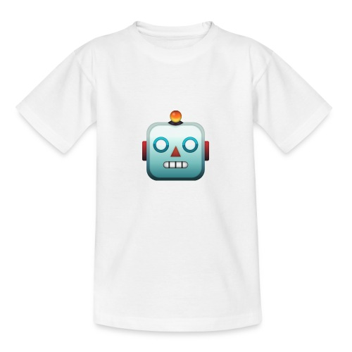 Robot Emoji - Teenager T-shirt