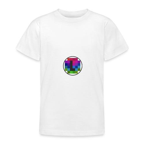 PixelColor - T-Shirt weiß - Teenager T-Shirt